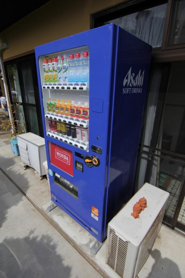 きよみ荘の自動販売機
